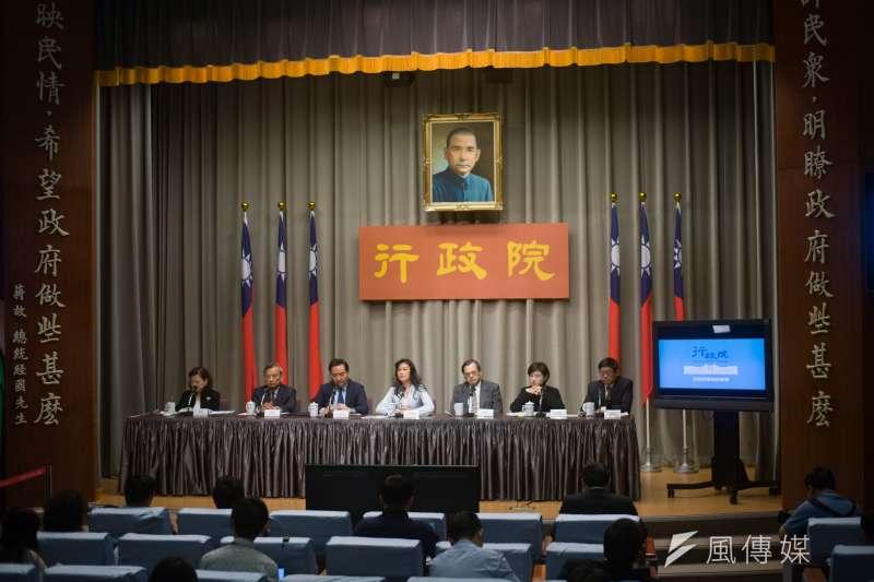 20190328-行政院記者會。(甘岱民攝)