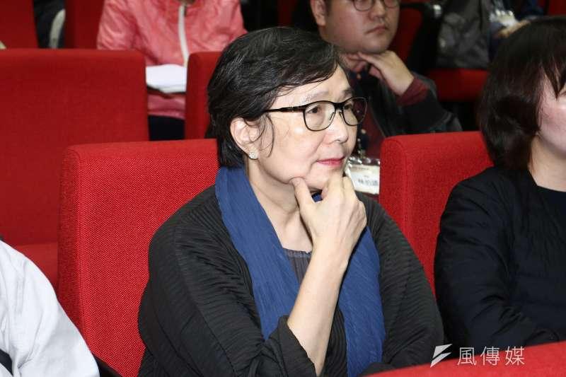 20190329-葉菊蘭29日出席「鄭南榕&言論自由」學術研討會。(蔡親傑攝)