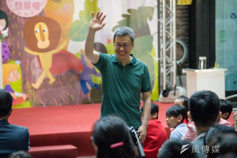針對民進黨總統提名人選,副總統陳建仁下午在臉書發文,強調他提出最強組合的說法,出發點只有一個,就是「民進黨可以因此而團結,不受到傷害」。(甘岱民攝)