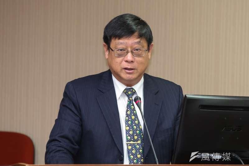 20190401-環保署長張子敬1日於立院衛環委員會備詢。(顏麟宇攝)