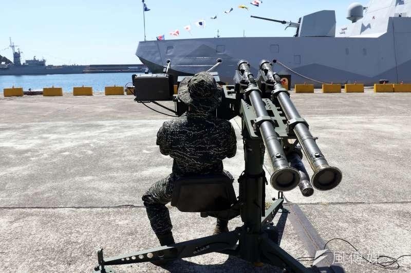 20190402_單兵操作的刺針飛彈,是我國野戰防空的要角。(資料照,蘇仲泓攝)
