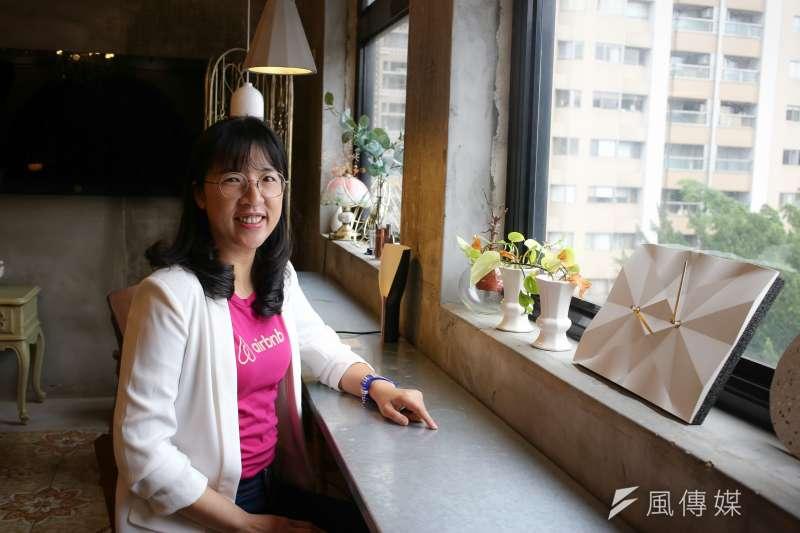20190402-專訪Airbnb台灣、香港公共政策總監蔡文宜。(陳品佑攝)