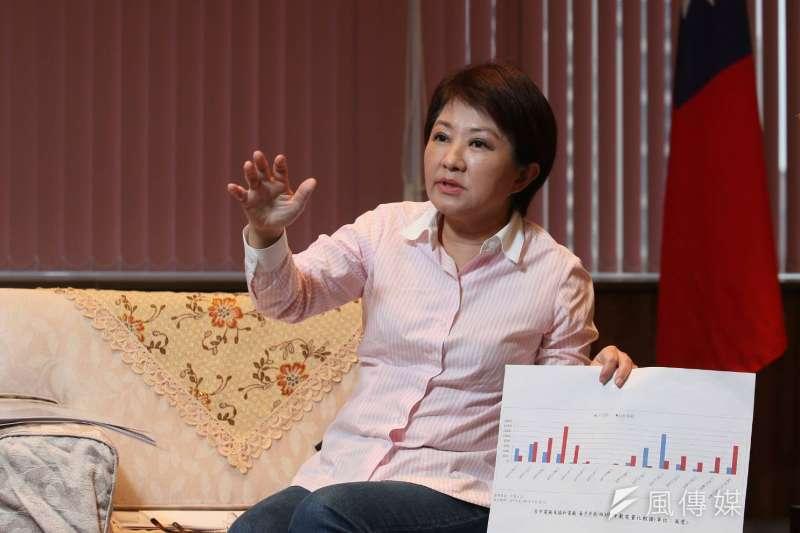 20190403 upload-台中市長盧秀燕接受《風傳媒》及《新新聞》專訪。(新新聞柯承惠攝)