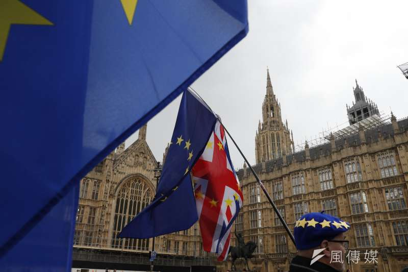 前任梅伊的英國首相強森日前表示,英國將於2019年10月31日無協議脫歐(no-deal Brexit)。(資料照,AP)