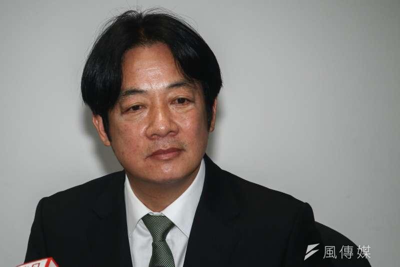 「台灣關係法」10日立法屆滿40周年,前行政院長賴清德表示,此次參與民進黨總統初選,是希望為美中台關係,注入更為和平、穩定與民主的動能。(資料照,蔡親傑攝)