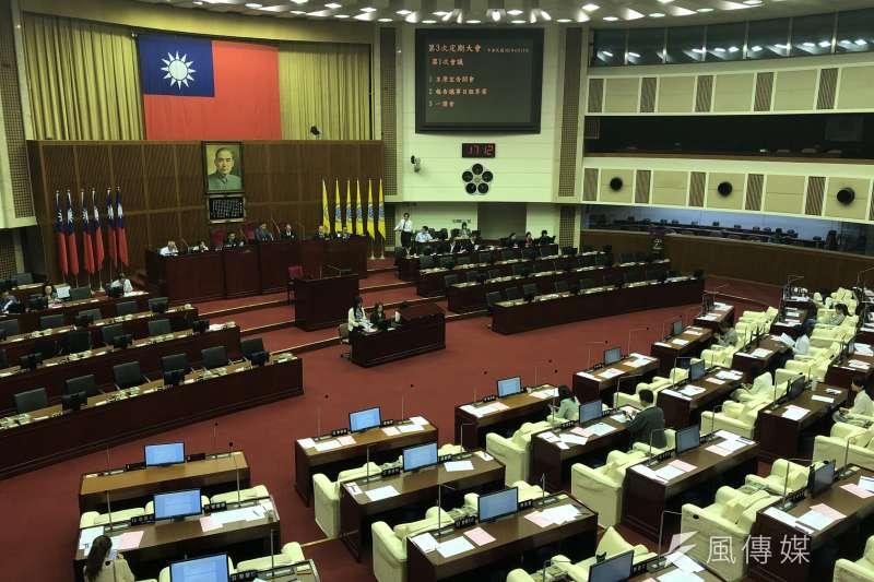 台北市議會9日開議,市長柯文哲明將進行施政報告。(方炳超攝)