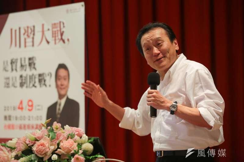 台灣前駐WTO大使朱敬一在自己的新著說明何謂功夫,並分別功夫與格鬥的區別。(資料照,顏麟宇攝)