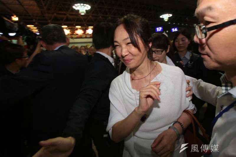 針對農舍違建爭議,高雄市長韓國瑜妻子李佳芬(見圖)提出將自請建築師測量比對,有違建就自行拆除。(資料照,顏麟宇攝)