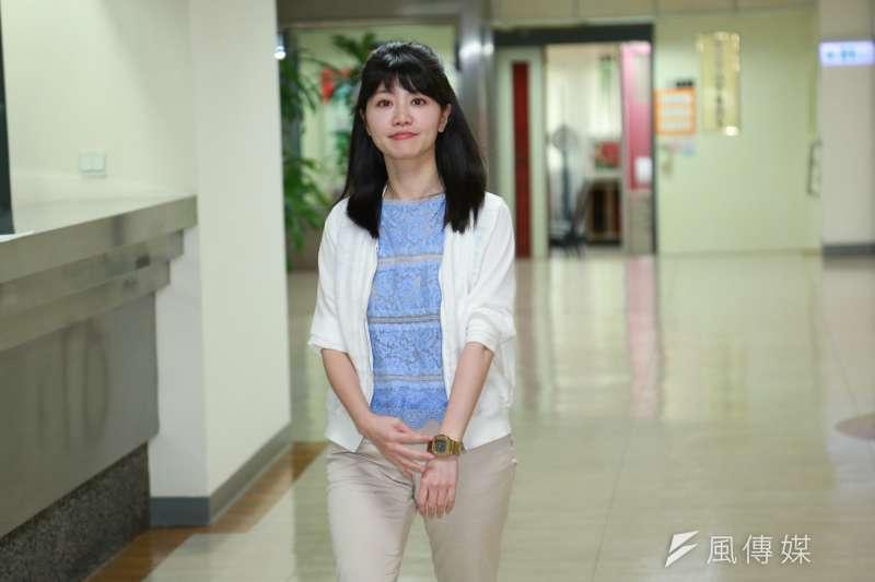 民進黨台北市議員高嘉瑜表示,民調顯示有超過8成的民眾都不支持民進黨總統初選延後。(資料照,簡必丞攝)
