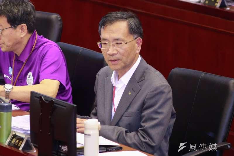 20190410-台北市副市長蔡炳坤。(簡必丞攝)