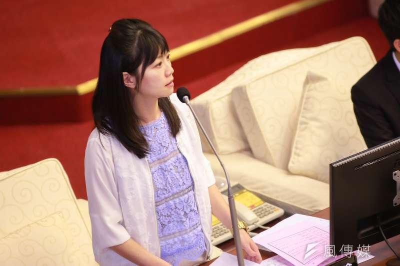 針對民進黨總統初選確定延後,台北市議員高嘉瑜表示,一再延後初選期程,已違反民主制度。(資料照,簡必丞攝)