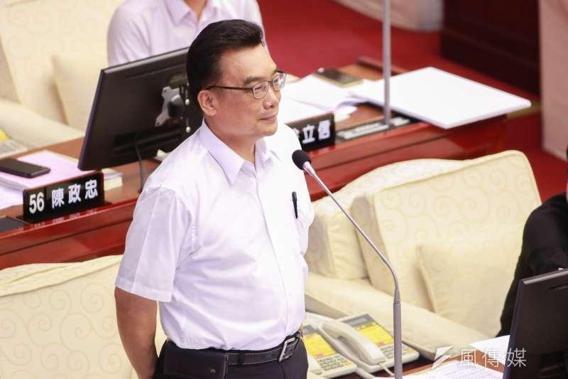 台北市議員林國成(見圖)傳出14日已申請退出親民黨。(資料照,簡必丞攝)