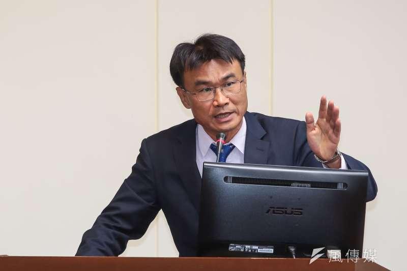 農委會主委陳吉仲(顏麟宇攝)