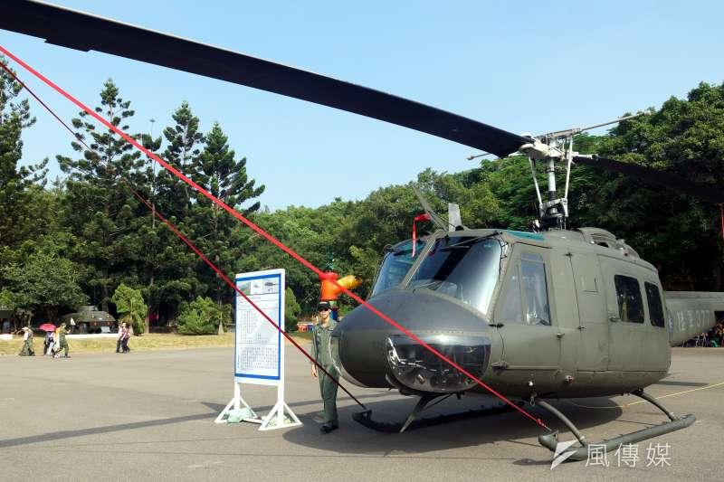 20190410-陸航UH-1H直升機。(蘇仲泓攝)