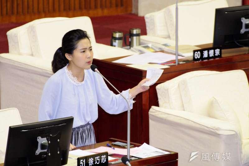 台北市議員徐巧芯認為,國民黨總統參選人韓國瑜想約前新北市長朱立倫見面討論合作,卻透過媒體傳話,這樣的做法恐無助團結。(資料照,甘岱民攝)