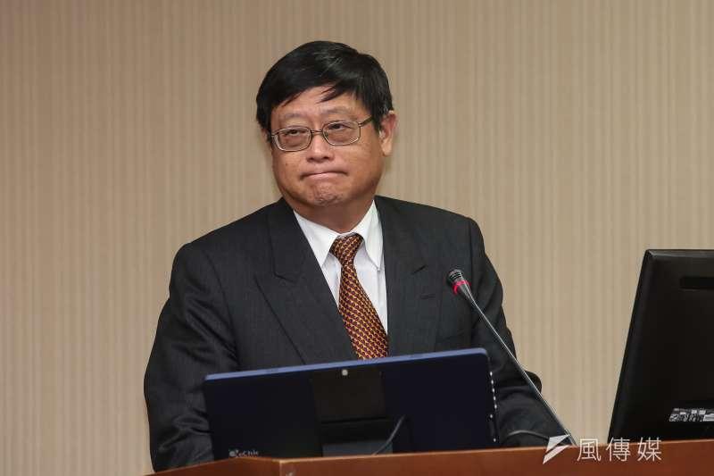 環保署長張子敬(見圖)表示,因為新冠肺炎疫情時間拉長,看起來有機會達到減碳2%目標。(資料照,顏麟宇攝)
