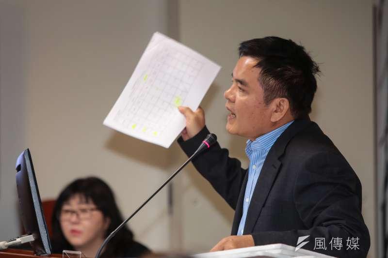 20190415-民進黨立委莊瑞雄15日於立院經濟委員會質詢。(顏麟宇攝)