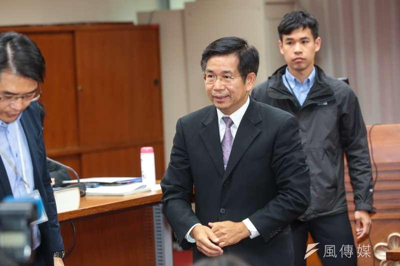 教育部長潘文忠15日出席立院教育委員會。(顏麟宇攝)