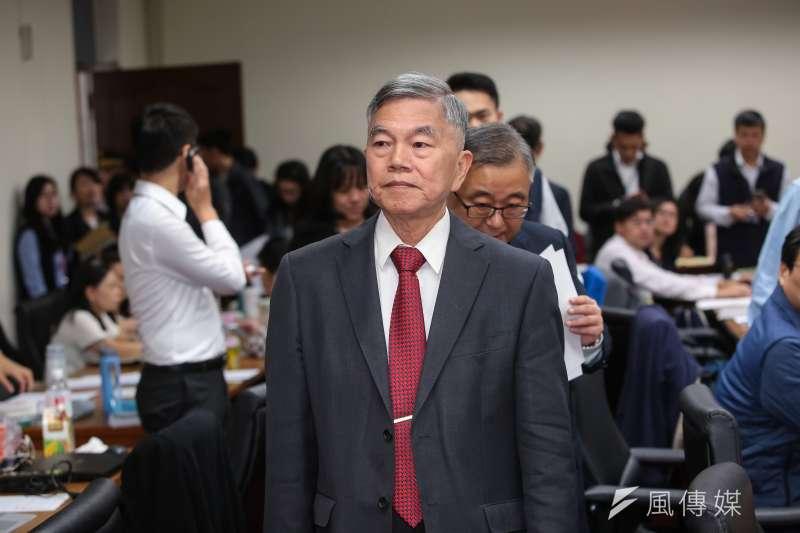20190415-經濟部長沈榮津15日出席立院經濟委員會。(顏麟宇攝)
