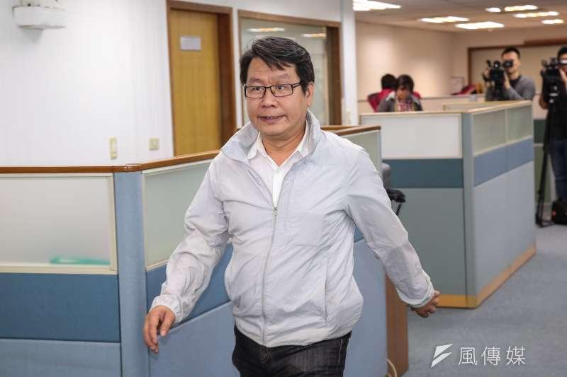 20190417-民進黨中常委沈發惠17日出席民進黨中常會。(顏麟宇攝)