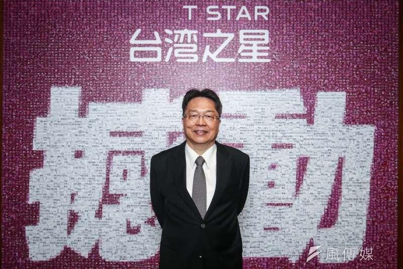 台灣之星總經理賴弦五接受風傳媒專訪。(蔡親傑攝)
