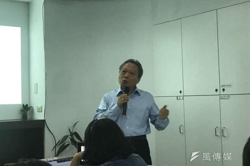 20190418-中華民國乳業協會秘書長方清泉。(廖羿雯攝)