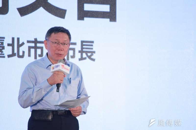 下月將赴日訪問,台北市長柯文哲今(25)日表示,將力推日人到台旅遊觀光。(資料照,方炳超攝)