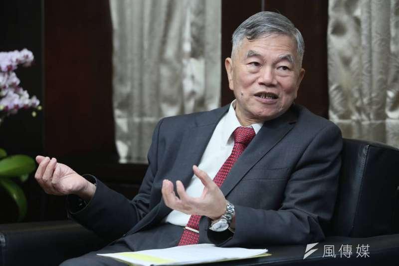20190419-風傳媒專訪經濟部長沈榮津。(新新聞柯承惠攝)