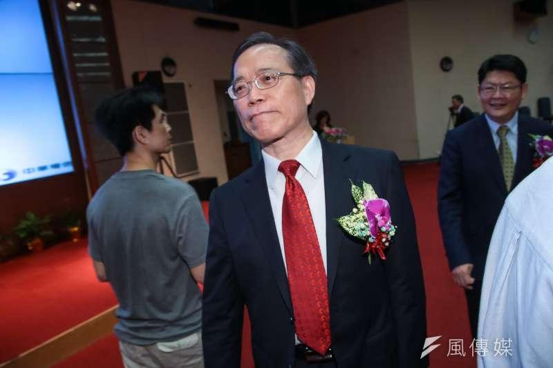 中華電信董事長謝繼茂表示,預定今年第3季開台5G,力拚在7月1日搶頭香。(顏麟宇攝)