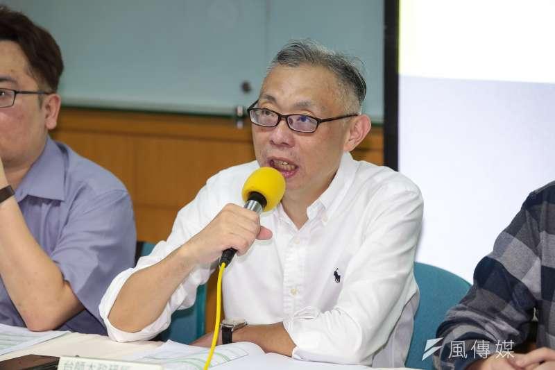 對於國安局走私菸一案,台師大政研所教授范世平(圖)表示「辣台妹不見了」。(資料照,顏麟宇攝)