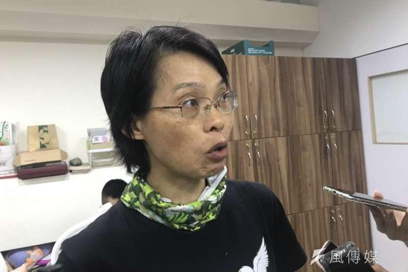 20190423_屏東科技大學野生動物保育研究所教授黃美秀。(廖羿雯攝)