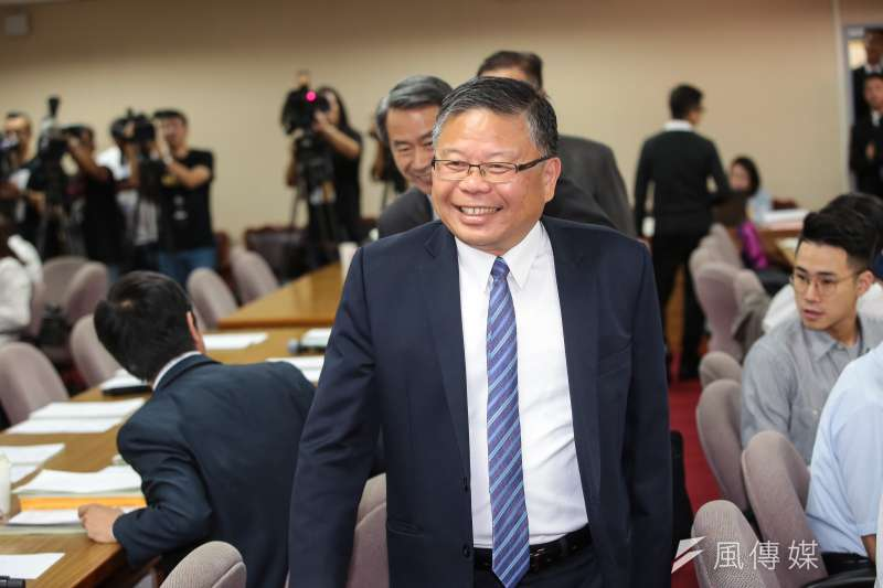 20190425-國防部副部長張冠群25日出席立院外交國防委員會。(顏麟宇攝)