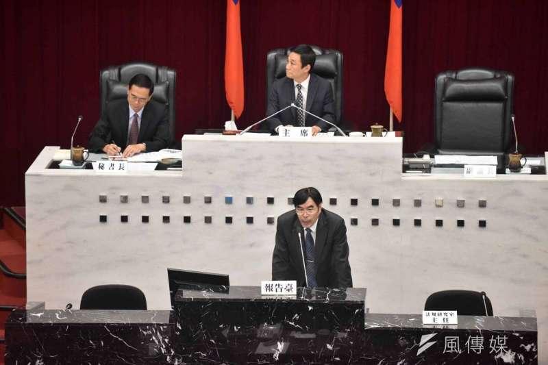 高雄市議會舉行高雄銀行營運績效與呆帳處理專案報告。(圖/徐炳文攝)