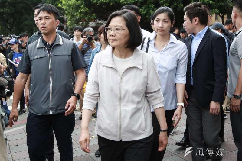 針對中國持續阻撓我參與世界衛生大會(WHA),總統蔡英文7日在臉書發文譴責,表示連健康都打壓的政權,只會失去世界的信任和尊敬。(資料照,簡必丞攝)