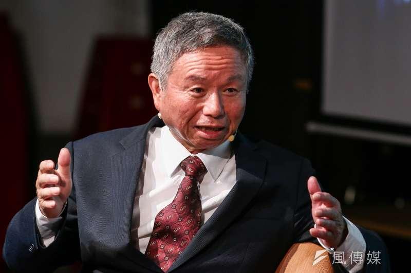 20190427-思沙龍》前衛生署長楊志良27日出席「全球醫療體系的大變革」座談會。(蔡親傑攝)