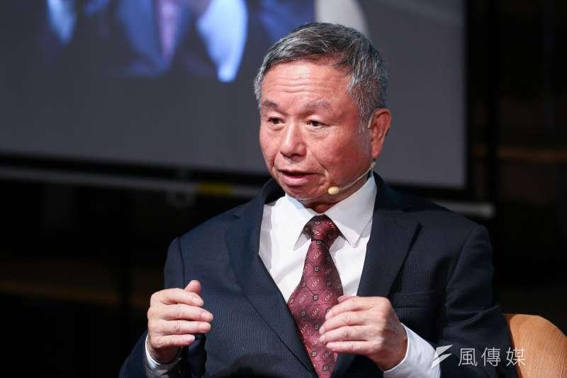 前衛生署長楊志良27日出席思沙龍「全球醫療體系的大變革」座談會。(蔡親傑攝)