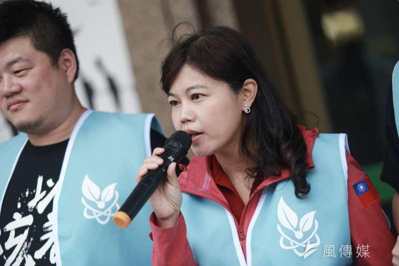 台北市議員游淑惠(見圖)批評立委洪慈庸「如果她有這樣的女兒,一定把她趕出家門!」。(資料照,簡必丞攝)