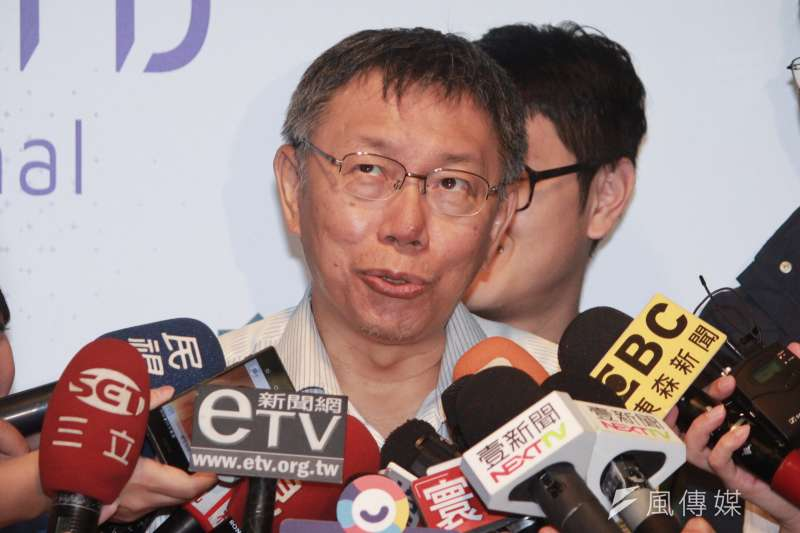 台北市長選舉無效之訴即將宣判,台北市長柯文哲(見圖)先前僅表示,「到底怎麼影響我也不確定。」上訴與否,要看判決書怎麼寫再決定。(資料照,方炳超攝)