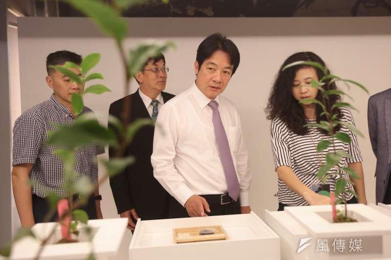 前行政院長賴清德4日「台灣人工智慧學校新竹分校第三期開學典禮」,針對五四運動,賴再度批評中國國家主席習近平要年輕人跟著黨走,與五四精神不合。(顏麟宇攝)