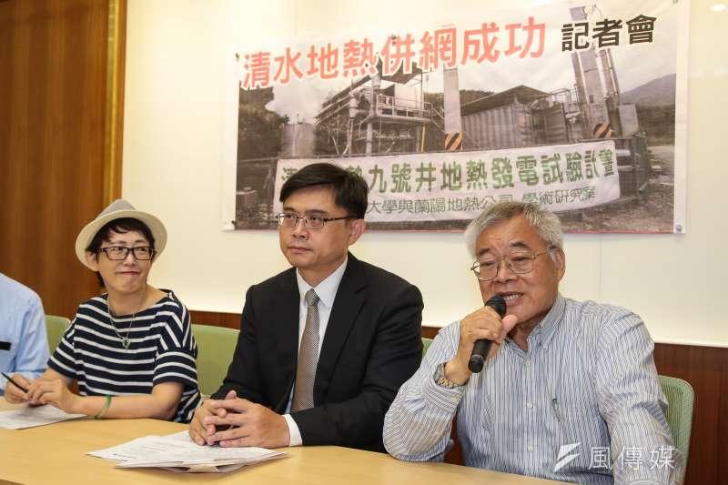 綠黨創辦人高成炎(右一)早在25年前就曾發起罷免韓國瑜,堪稱「罷韓祖師爺」。(資料照,顏麟宇攝)