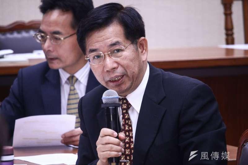 20190501-教育部長潘文忠1日出席立法院教育委員會。(蔡親傑攝)