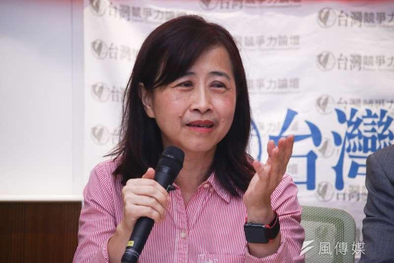 國民黨台北市大安區立委初選結果8日出爐,由現任不分區立委林奕華勝出。(資料照,蔡親傑攝)