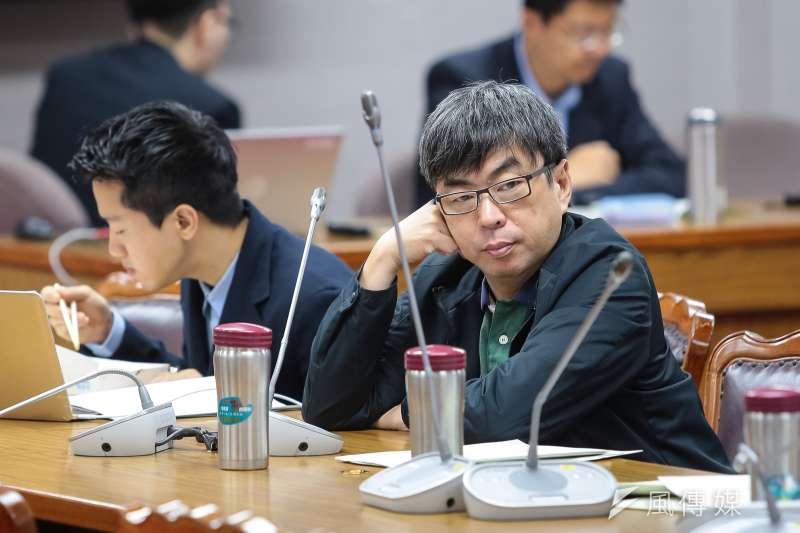 20190502-民進黨立委段宜康2日出席司法法制委員會,協商同婚法案。(顏麟宇攝)