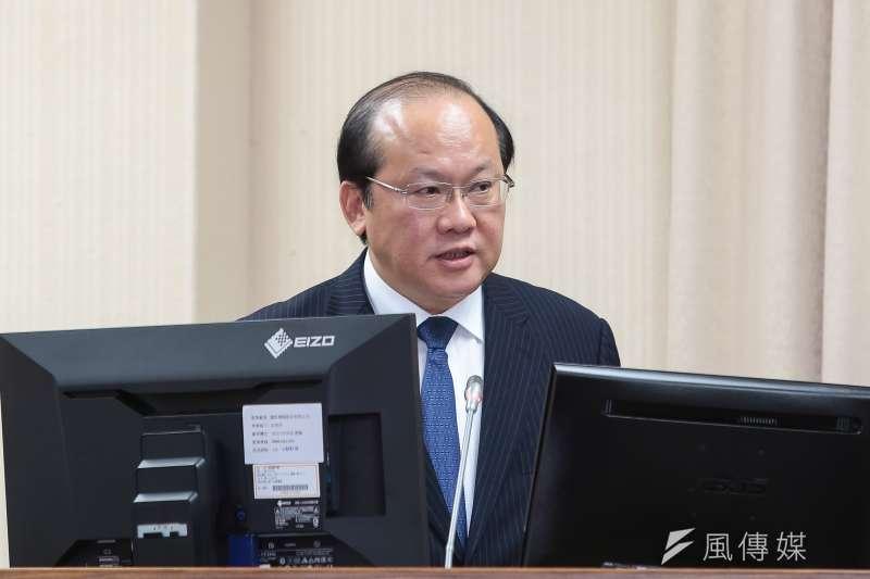 國安局副局長陳文凡出席美國智庫詹姆士敦基金會(Jamestown Foundation),並以「中國對台影響力行動」為題發表演說。(資料照,顏麟宇攝)