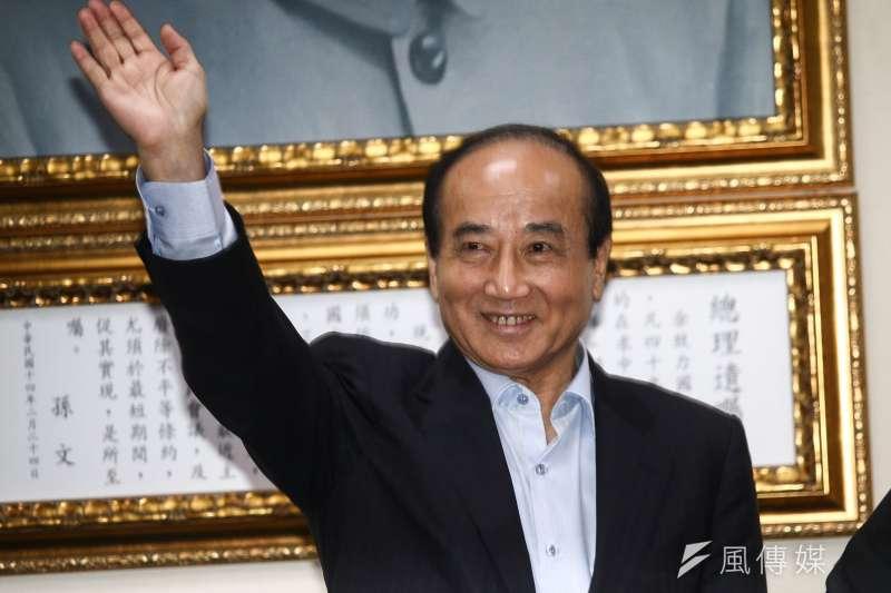 前立法院長王金平認為,台灣無法再以拖和躲,來回避兩岸問題。(資料照,蔡親傑攝)