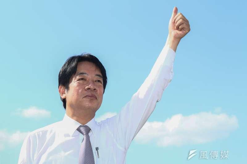 前行政院長賴清德將8日將出訪日本,賴清德辦公室今(7)日表示,此行並未動用到外交體系。(資料照,蔡親傑攝)