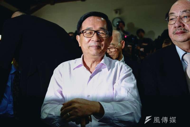 前總統陳水扁(見圖)指出,私菸案是總統府內有人「為非作亂」,且這名人士的妻子「長期有這樣的壞習慣」。(資料照,簡必丞攝)