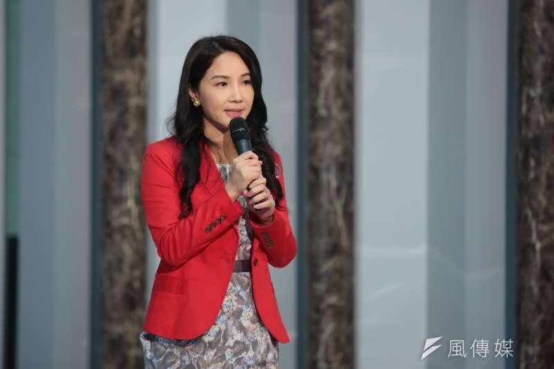 20190506-華視新聞部經理黃兆徽6日出席「台灣事實查核中心與華視新聞合作記者會」記者會。(顏麟宇攝)