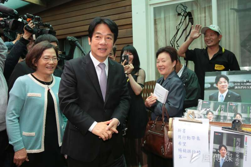 高雄市長韓國瑜日前拋出,當選後推動總統兼任閣揆的構想,前行政院長賴清德16日表示,若把總統制和內閣制混為一談就「四不像」了。(資料照,顏麟宇攝)