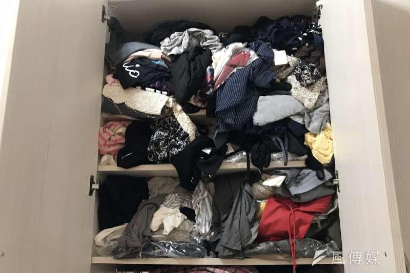 衣櫥又塞爆了嗎?心理師教你找到癥結點。(圖/風傳媒攝影)